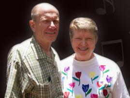 Tim & Lynn Anderson, founders of Gloria Music